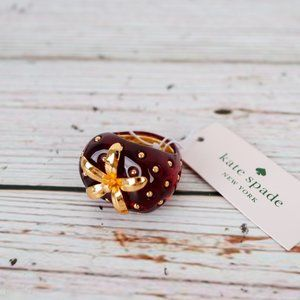 NWT Kate Spade Strawberry Ring Size 7